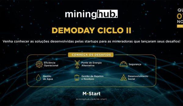 Inscrições abertas para o Demoday do Ciclo 2 do M-Start. Participe!